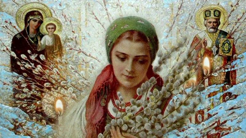 Поздравление с Вербным Воскресеньем 2018 от Наша Няша Верба распустилась