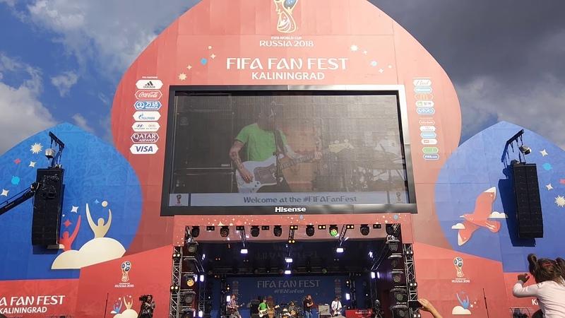 Паровоз Fifa Fun Fest 16 06 18