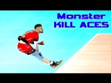 TOP 10 Monster KILL ACES. Powerful ACES.