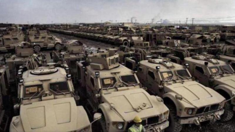 В страны Балтии движутся Огромные колонны Танков США