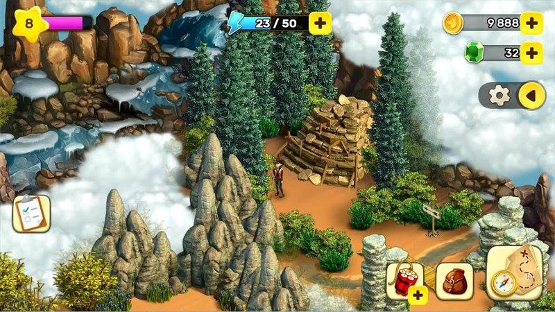 Klondike Adventures - Brook Valley ( Долина ручьёв - Мобильный Клондайк)4