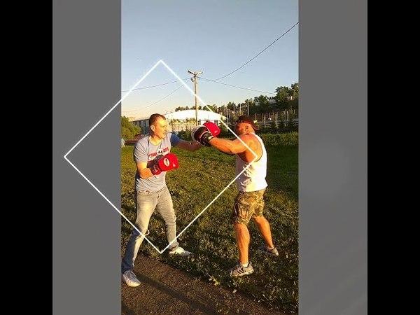Outdoor fitness тренинг