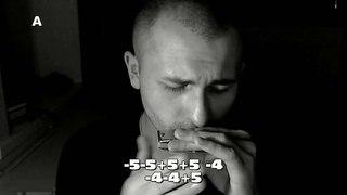 Killing me softly (Charles Fox, Norman Gimbel) harmonica tabs