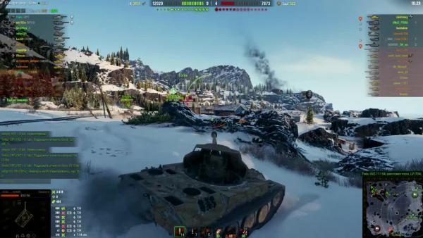 World of Tanks Карта Штиль! Супер позиция! Прострел на всю карту!