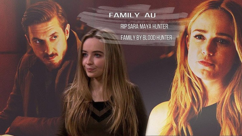 FAMILY AU ! FAMILY BY BLOOD — HUNTER