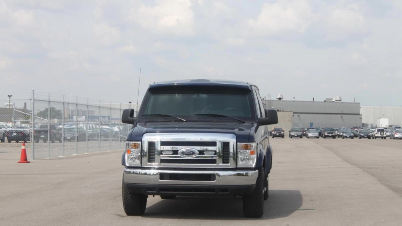 INKAS® Armored Ford E350 VIP Bus