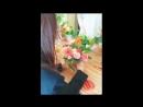 180524 [FANCAFE] Weki Meki Doyeon flower class behind 3