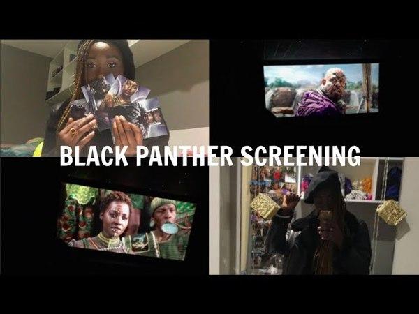 EDINBURGH UNI VLOG 22: BLACK PANTHER SCREENING | HADDY JENG