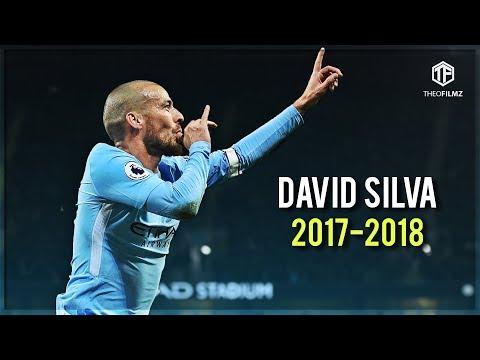 David Silva - Manchester City's Genius | Skills Goals | 2017/2018 HD