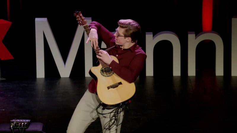 What if you could make one instrument sound like an entire band   Alexandr Misko   TEDxMannheim