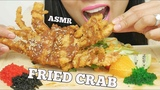 ASMR DEEP FRIED SOFT SHELL CRAB + TOBIKO EGGS (EXTREME CRUNCH EATING SOUNDS) No Talking | SAS-ASMR