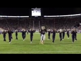 byu's mascot cosmo the cougar dancing to rolex by ayo and teo (official/full video)
