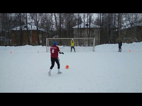 Техновек 1:1 Воткинская ГЭС зимний турнир памяти Г.Н. Литвинца серия пенальти футбол город Воткинск