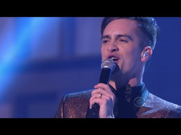 Brendon Urie (from Panic! at the Disco) - Big Shot - Kennedy Center Honors Billy Joel