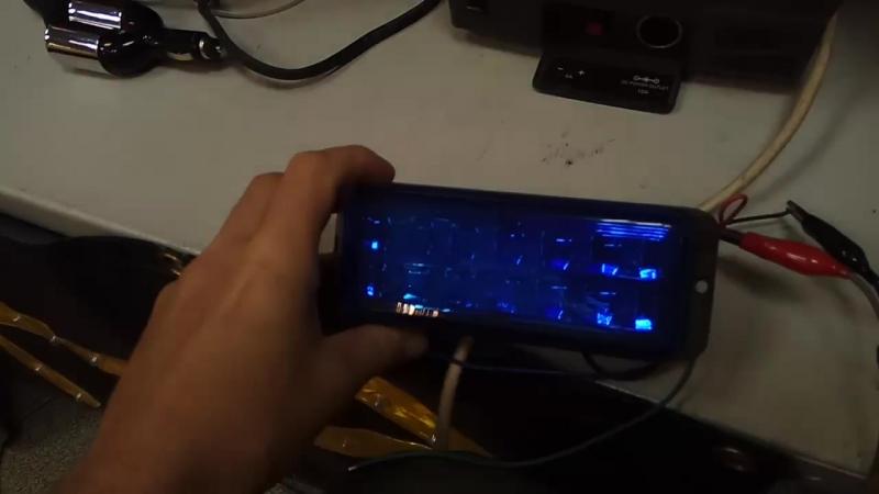 SK-K6 фара-вспышка проблесковая светодиодная синяя