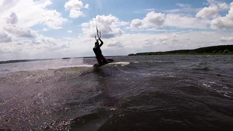 Kiteboarding Kurchatov Kapenky June 2018