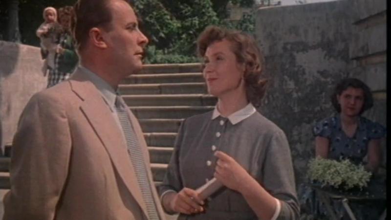 «К Чёрному Морю» (1957) - комедия, мелодрама, реж. Андрей Тутышкин