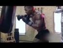 Майк Тайсон- нарезка видео с тренировок