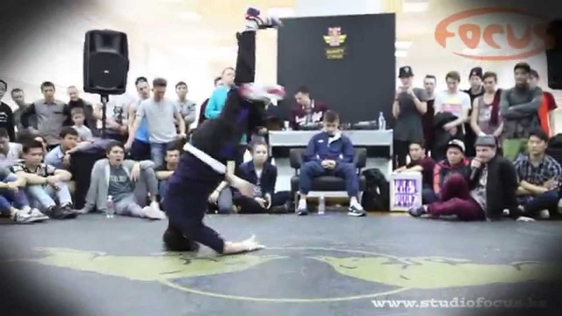 Alex vs Kaskyr I Red Bull BC One I Almaty Cypher 2015 I Dance Studio Focus