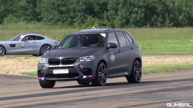 BMW X5 M G-POWER - REVS DRAG RACE!