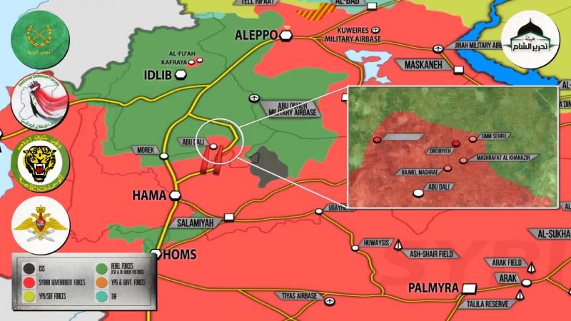 Syrian War Report 04.01.18: new advances SAA in Idlib/Hama provinces.