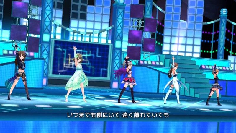 「デレステ」Nation Blue Game ver 標準メンバー 渋谷凜、高垣楓、神崎蘭子、新田美波、多田李衣菜 SSR