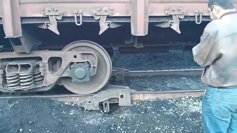 Приколы на железной дороге. Как не надо работать)