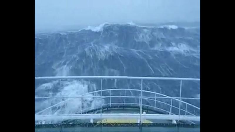 Северное море - Большая волна
