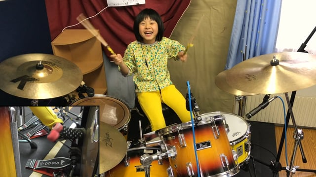 『Hit Like A Girl Contest 2018』Good Times Bad Times - LED ZEPPELIN / Cover by Yoyoka , 8 year old drummer
