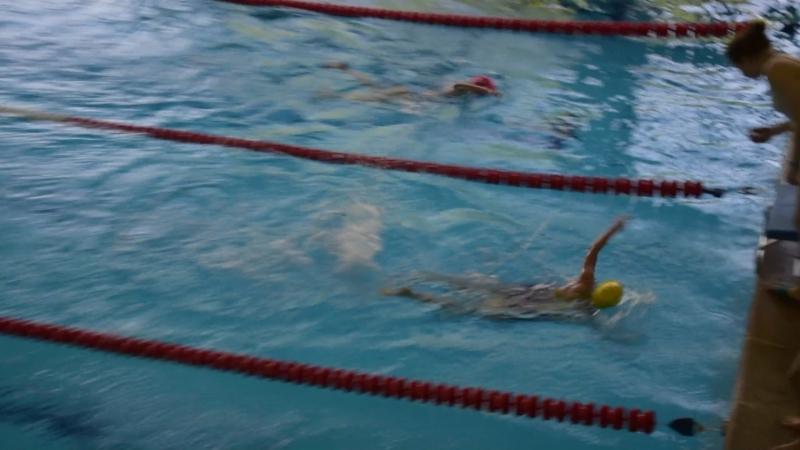 200м кпл девочки 2 заплыв (25.05.2018)