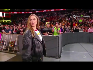 Презентация Ронды Роузи в качестве рестлера WWE.