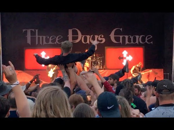 (NEW SONG) The Mountain - Three Days Grace (LIVE) @ 98 RockFest Ladson SC