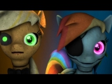 Five nights at Aj's - Game Over [REMAKE] [MLP SFM] Rus