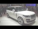 2019 Range Rover SV Coupe 557HP - World's FASTEST 2 Door SUV