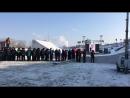 Показательные выступления на набережной в Тюмени