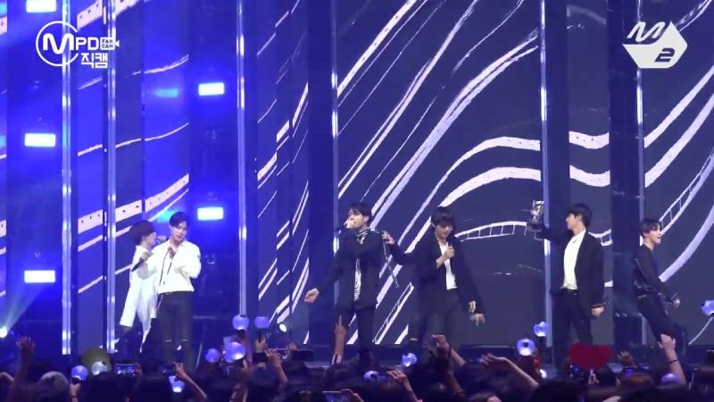 [MPD직캠] 방탄소년단 1위 앵콜 직캠 4K FAKE LOVE (BTS FanCam No.1 Encore) _ @MCOUNTDOWN_201