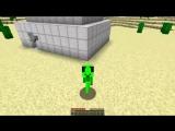 НУБ ПРЕВРАТИЛСЯ В ЗЕЛЕНЫЙ ЧЕЛОВЕК В Майнкрафт Нубик танцует minecraft троллинг нуба Мультик Мод