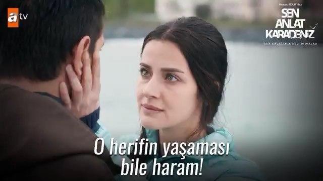 """Sen Anlat Karadeniz on Instagram: """"O şerefsiz hem sana dokundu, hem oğlunu elinden almaya kalktı! . EnDeliTahir SenAnlatKaradeniz iremhelvaciogl..."""