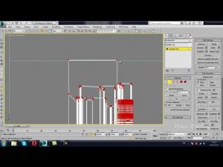 Окна, двери, мебель, молдинги на стены. Моделирование в 3D Max.