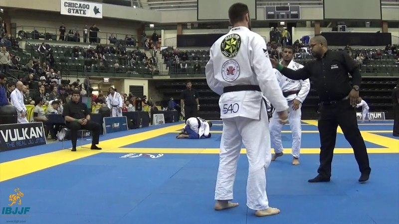 Gutemberg Pereira vs Jared Dopp Chicago Spring Open 2018