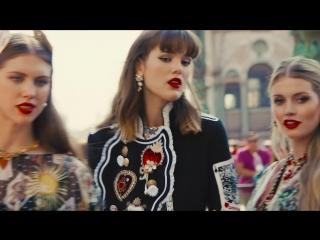Рекламная кампания Dolce&Gabbana Весна Лето 2018