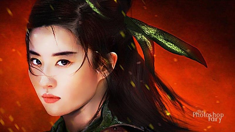 Disneys Mulan (2019) - Crystal Liu Yifei as Mulan   Concept Design (Unofficial)