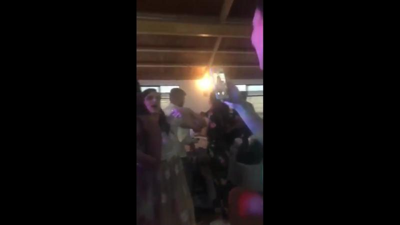 @DulceMaria hoy en la boda de Bitcho y Duda [2]