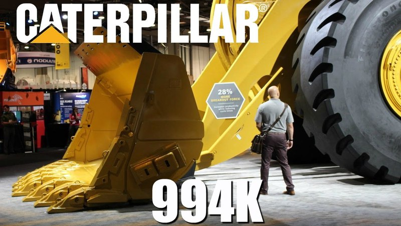 Caterpillars biggest wheel loader - The statistics behind the size.