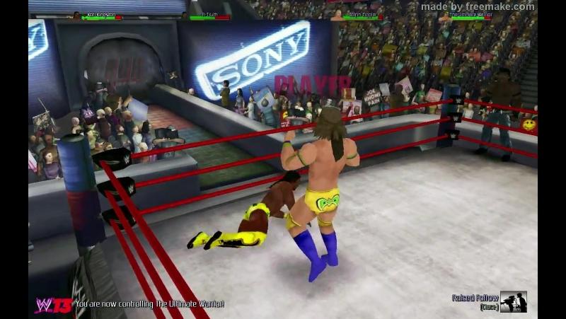 R-Truth и Кофи Кингстон против Дольфа Зигглера и Последнего Воина