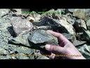 Поиск золота в горах. Анализ породы.