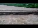 Momento en que colapsa puente de Zaza del Medio en Sancti Spíritus