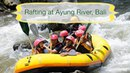 White Water Rafting at the Ayung River Bali Indonesia
