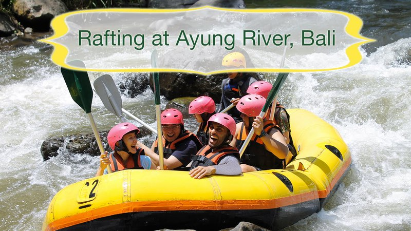 White Water Rafting at the Ayung River, Bali, Indonesia