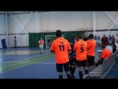 ЦКБА МКП Тулгорэлектротранс 3 1 2 й тайм начало 1 4 финала Турнир по мини футболу среди мужских команд трудовых коллективо